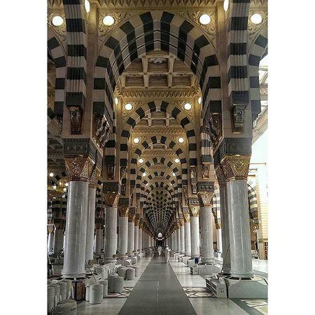 المسجد النبوي - المدينة المنورة ❤ تصويري  المدينة مكة جدة تصوير الرياض mobilephotography
