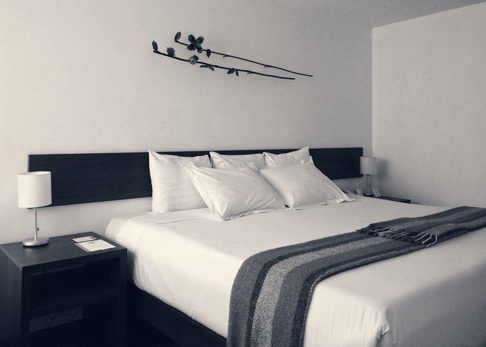Interior Of Bedroom In Hotel