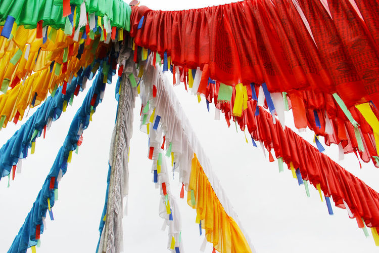Hanging Multi Colored Belief No People Religion Spirituality Flag Place Of Worship Outdoors Tibet Tibetan Buddhism Tibetan Culture Buddhism Buddhist Flag Buddhist Flags Prayer Flags  Prayer Flag