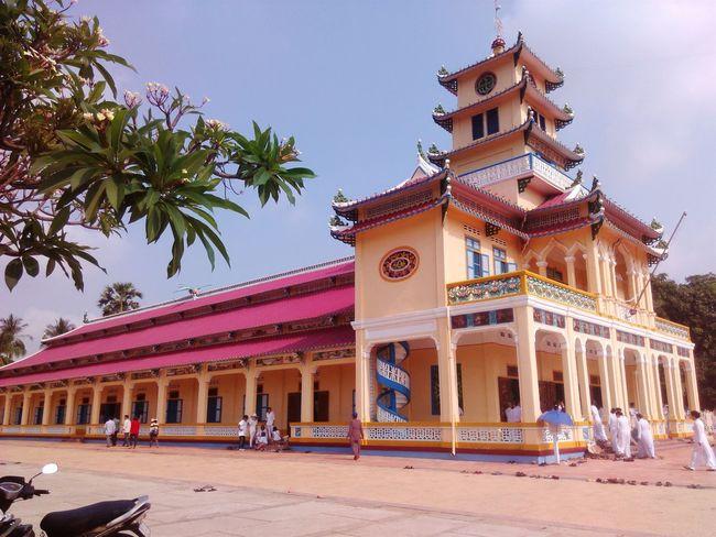 Báo Ân Từ - Temple Mother Vietnam Temples cao dai tay ninh Caodaisme