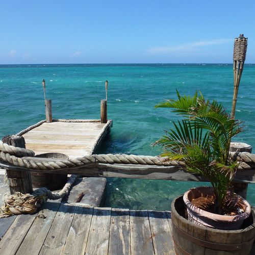 Jamaïque Tourism Tranquility Beauty In Nature Travel Destinations Outdoors Tranquil Scene Sea