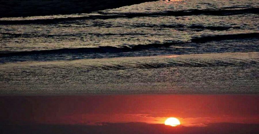 Beach Sunset Upsidedownit! Nofilter