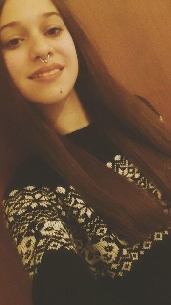 Septum Peircing Septum Newpiercing Selfie ♥ Loveit Adore It ImInLove