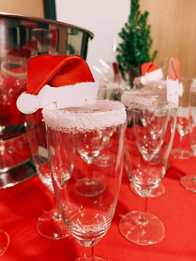 Glass Drink Red Refreshment Alcohol Food And Drink Table Indoors  Drinking Glass Celebration Christmas No People Still Life Decoration Holiday Close-up