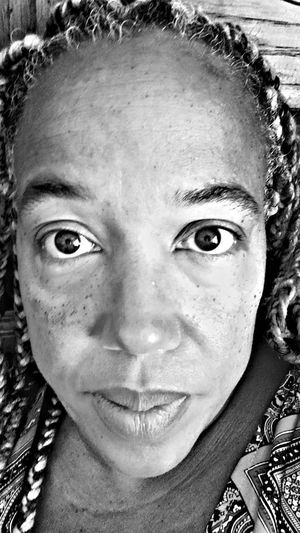Inside My Feelings African American Woman Braids Portrait Young Women Looking At Camera Headshot Human Face Close-up Freckle The Portraitist - 2018 EyeEm Awards International Women's Day 2019
