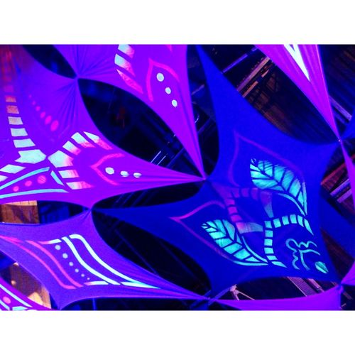 hadra trance festival 2018 Night Nightphotography Light Fluorescent Light Fluorescent Phosphorescence Hadra Trance Grenoble Paint Lightening Light In The Darkness Arts Culture And Entertainment Abstract Photograph Indoors  Modern No People Technology