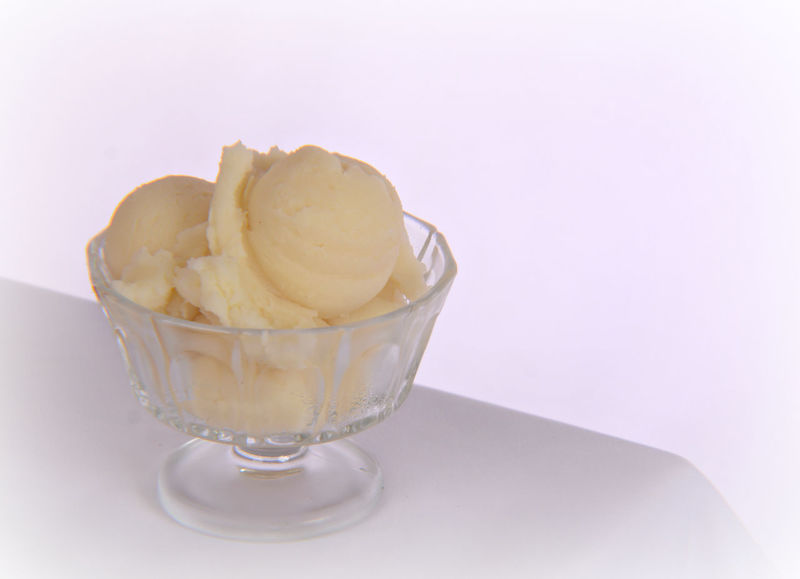 Bowl Cold Temperature Dessert Food Food And Drink Frozen Frozen Food Frozen Sweet Food Ice Cream Ice Cream Sundae Mimimalism Minimal No People Plain & Simple Ready-to-eat Scoop Shape Simple Sweet Food Temptation Vanilla Ice Cream  White White Background
