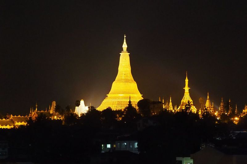 Pagoda Night Nightphotography Night Lights