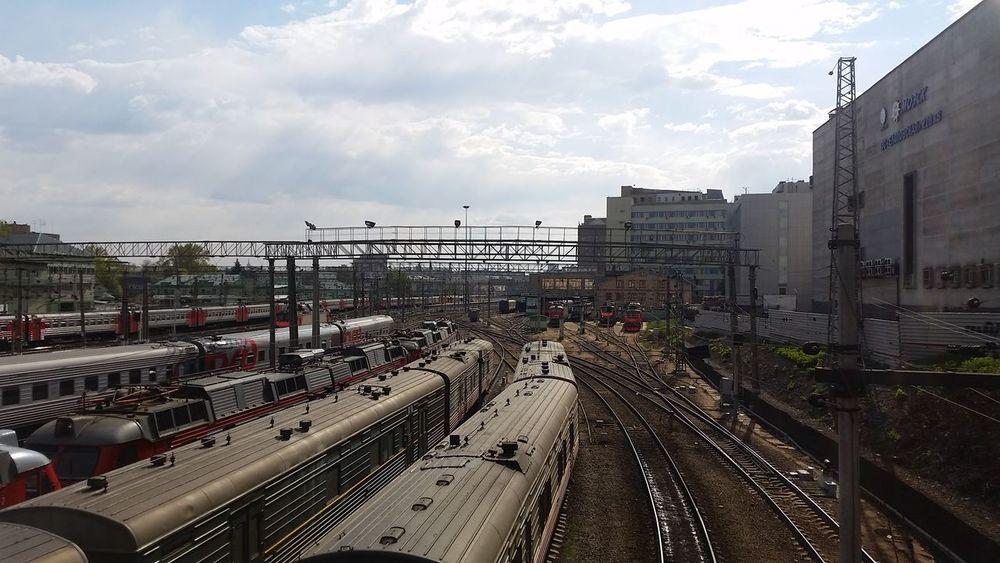 РЖД казанский вокзал поезда Photography Железная дорога электрички ЖелезнодорожныеПути
