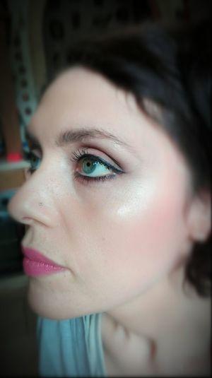 Make-up professionale Modella Trucco