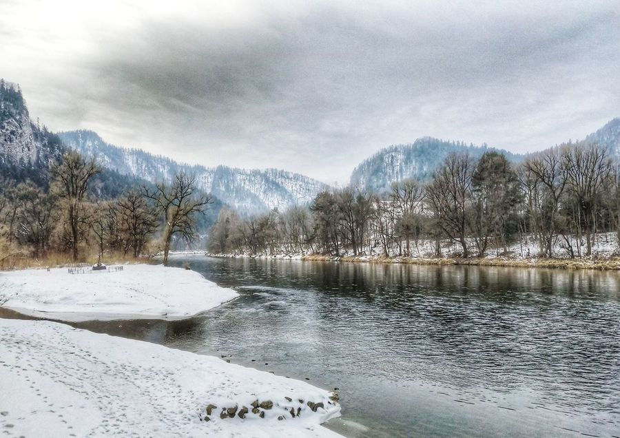 Pieniny Cold Temperature Winter Mountain Nature Cloud - Sky No People Landscape Outdoors
