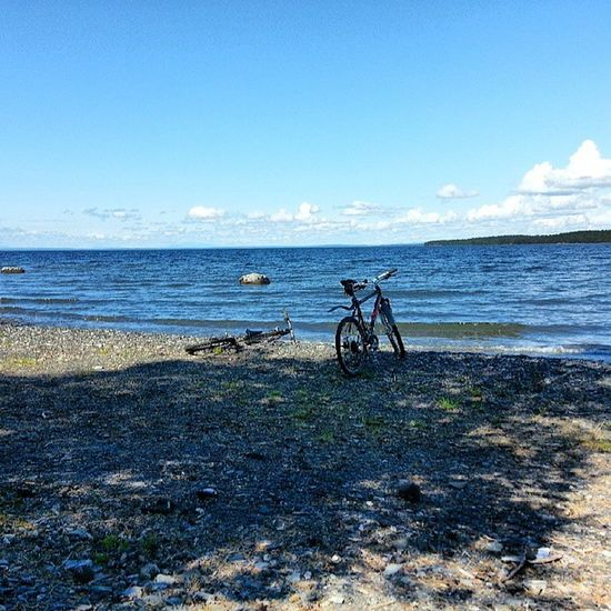Så tågar vi tillsammans bort över jämtlands sköna ängar bort........... N ästansomboden FR ösön Cykeltur