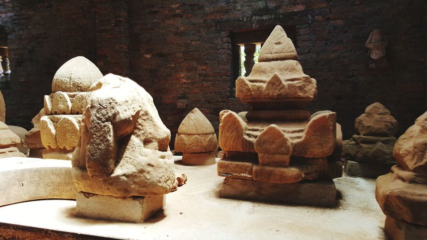 EyeEm Selects Ancient Civilization Indoors  No People Sculpture Architecture Travel Destinations Old Ruin Vacation Destination Beautiful Places In The World Hindu Temple Stone - Object Statue My Smartphone Life