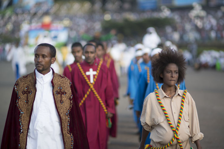 Ethiopia Ethiopian Photography 🇪🇹 Meskel Meskel Festival, Erhiopian Street Africa Celebration Day Meskel Flower MeskelSquare Outdoors Parade Real People Togetherness Traditional Clothing