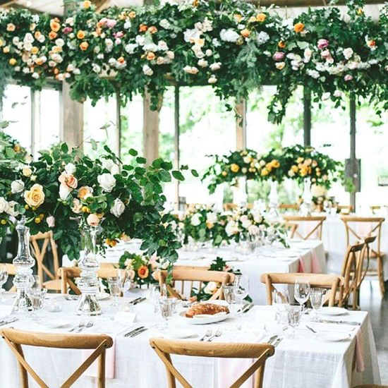 Regram from @ruffledblog. This wedding is jaw dropping! Thanks so much @dot_dot_dash for including our peach ombre napkins in this stunner! And can we just talk about these florals!! Wedding Australia Events Summer Love Decor Table Dining Floral Textiles Napkins Photography Weddingreception