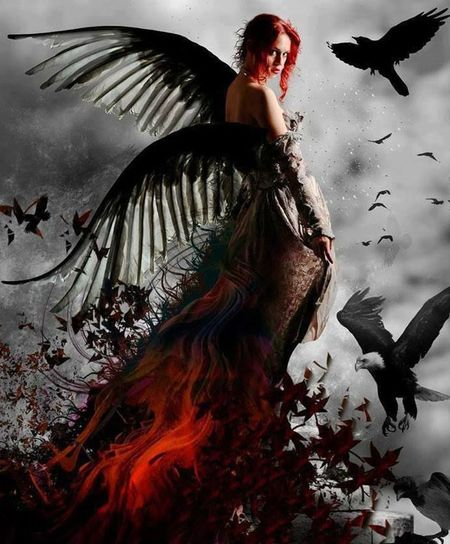 Fantasy Photography Beautiful Woman Only Women Beauty Fantasy Red Queen Females