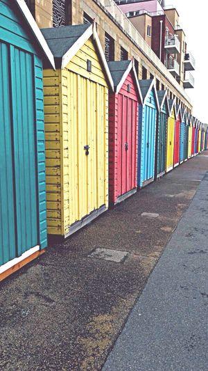 Today Bournemouth Beach Beachphotography Beach Huts Bournemouth Beach