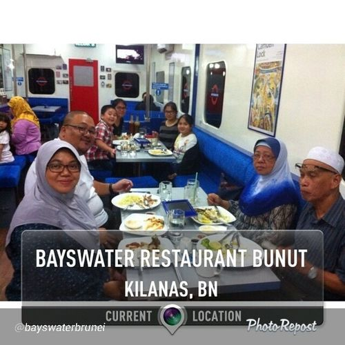 "By @bayswaterbrunei ""24/12/2013 - Our evening thank youss... Bunut Bayswaterbrunei Bayswaterrestaurantbrunei "" via @PhotoRepost_app"