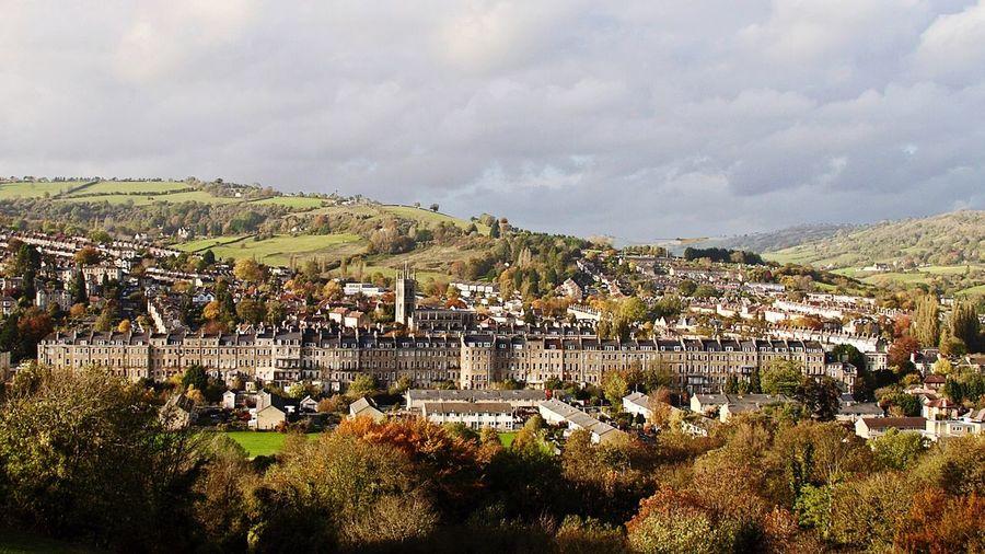 Bath Bath United Kingdom City Cityscapes Autumn Autumn Colors