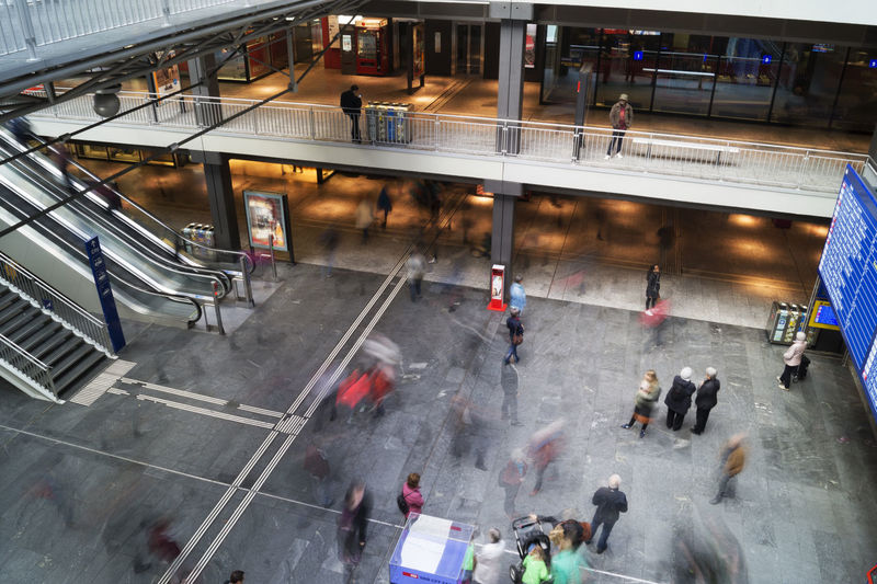 Railway station Bern SBB Architecture Blurred Motion Building Exterior Built Structure City City Life Crowd Group Of People High Angle View Large Group Of People Men Motion Move Outdoors Public Transportation Railway Railway Station Real People Road Sign Street Switzerland Transportation Travel #urbanana: The Urban Playground