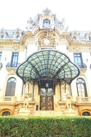 Art Deco Jugendstil Entrance Façade East Luxury City History Ornate Architecture