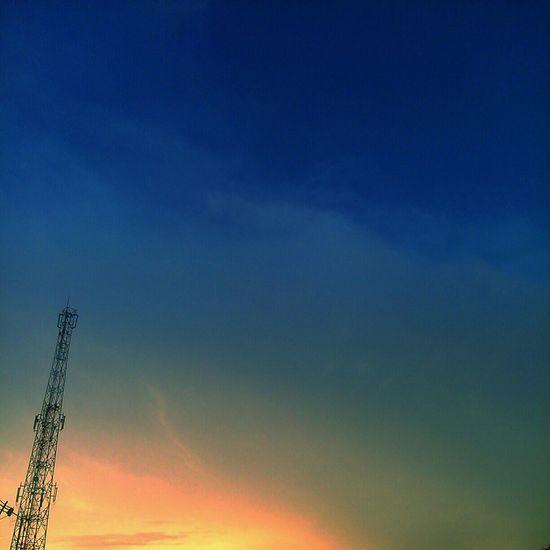 Selamat sore Kediri ✋✋✋ Taking Photos Hello World Enjoying Life Nature Beautiful Nature Naturaleza Sunset