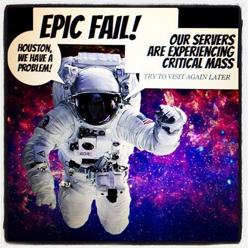 Lockerz.com Epic fail error! Epic Technology Fail Tech Error Geek Website Lockerz Epic_fail