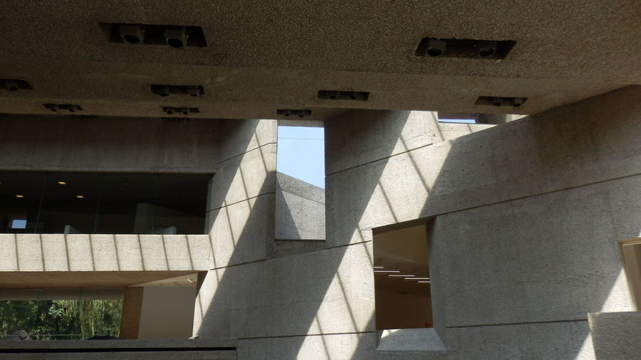 Architectural Column Architectural Feature Architecture Building Built Structure City Day Engineering Illuminated Light And Shadow Modern Museum No People Tamayo