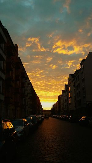 Sunset Berlin Berliner Ansichten My Fuckin Berlin Clouds Clouds And Sky Skyscapes Altbau