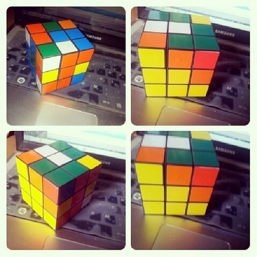 My Nuevo  Juguetito El Cubo Rubik