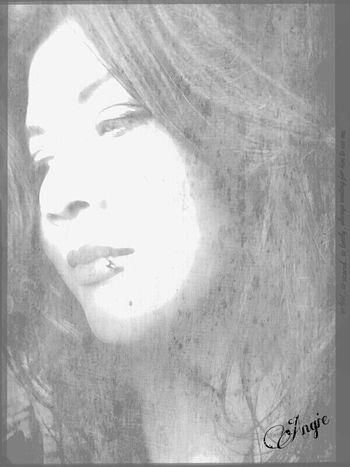 Blackandwhite Faces Of EyeEm That's Me Artistic Selfie Beautiful Selfie Emotions