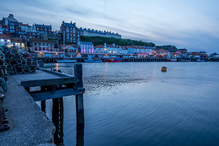 Whitby Whitby Harbour Whitby View Whitby North Yorkshire North Yorkshire North Yorkshire Coast Seaside Seaside Town Coastal No People Nature Waterfront Nautical Vessel River Dusk Water Sky Cloud - Sky Transportation Outdoors Building Architecture Illuminated Building Exterior City