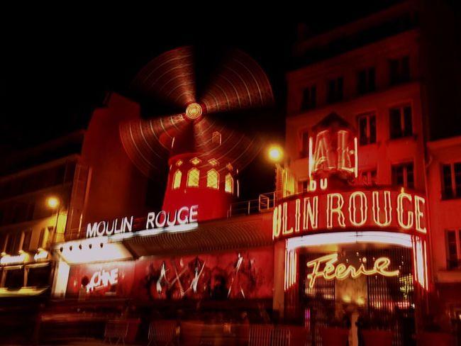 Parispics Paris Paris ❤ Paris, France  Moulin Rouge Moulinrouge Montmartre Cabaret