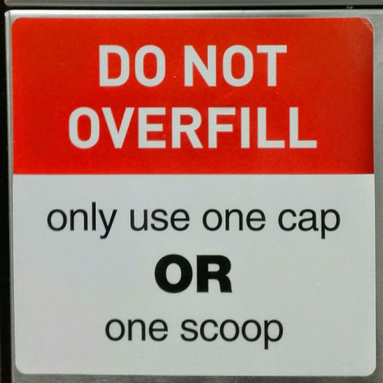 Warning Sign Notice Do Not Overfill Signs SIGN. SIGNS. Signporn Signstalkers Signs_collection Signs & More Signs Notices Sign, Sign, Everywhere A Sign Signs Signs Everywhere Signs Signs, Signs, & More Signs One Cap, Or One Scoop Sign Signage Don't Do This, & Don't Do That Signs - Warnings Danger Sign Overfilled 1 Cap, Or 1 Scoop Don't Red, White, & Black Do Not