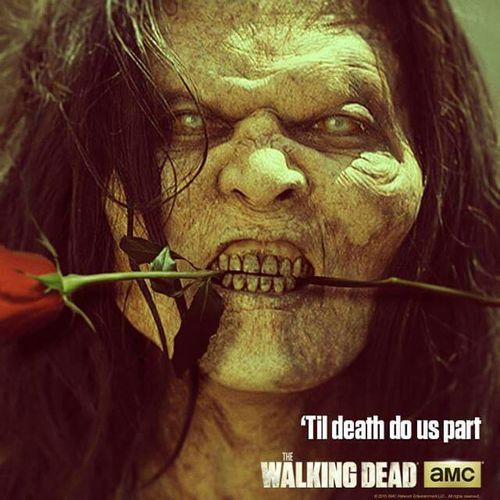 Happy Valentine's Day Walkingdead Love Bites Hehehehe  Season5