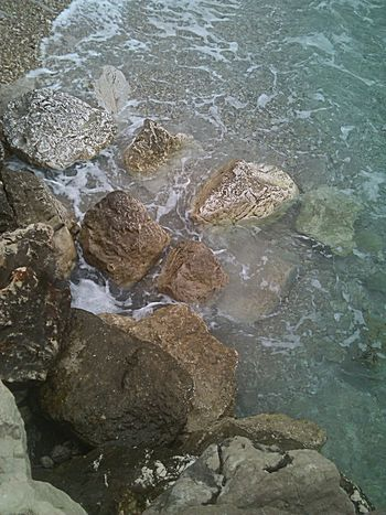 Beauty In Nature Close-up Crikvenica Croatia Day Idyllic Nature No People Outdoors Rock Rock - Object Rock Formation Sea Water
