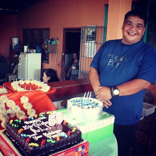 Happy Birthday Dad! <3 Goldenboy Al @50
