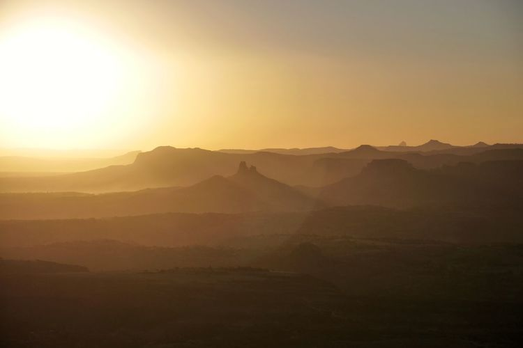 Agame Mountains Sunset Dusk Landscape Ethiopia Africa Mountain Dawn Sunset Fog Sunlight Sun Silhouette Sky Landscape Travel Mountain Range Foggy Mountain Ridge The Great Outdoors - 2019 EyeEm Awards