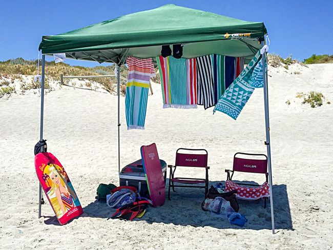 Beach Shade On The Beach Beach Lifestyle Beach Life Western Australia Beach Australia Beach Photography Towels Beach Towels Beach Shades Beach Tent Hut Shade Beach Chairs Relaxing Summer Summertime Sand Sand Dunes Coastal