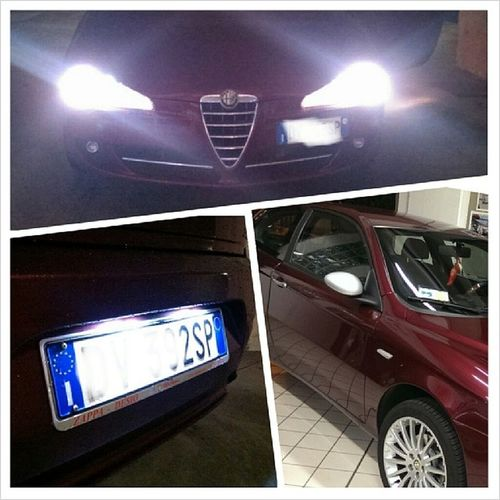 New light ?❤ Alfa Alfaromeo Alfaromeo147 Alfa147 147 alfisti alfaworld virtualalfa led ledlight nightlight webstagram