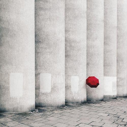 Minimal Minimalism Kraków, Poland EyeEm Selects Red Close-up Architecture Whitewashed Wall