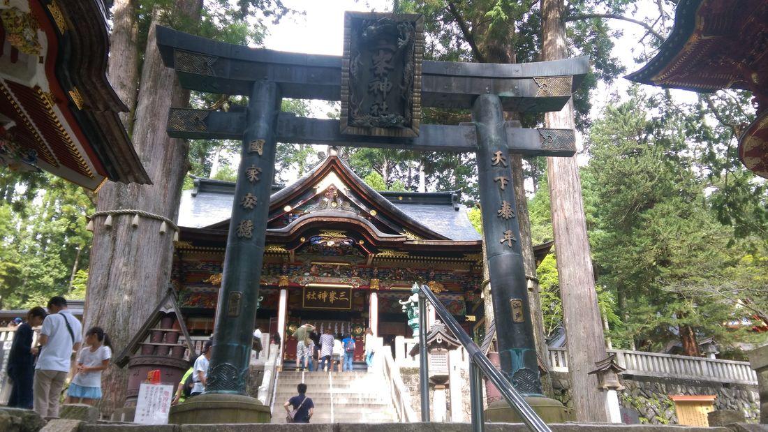 奥秩父 三峯神社 パワースポット 神木