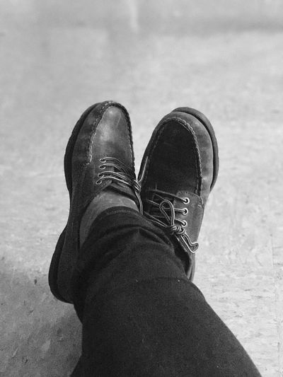 Shoe Low Section One Person Real People Human Leg Personal Perspective Standing Human Body Part Close-up Day Lifestyles Outdoors People