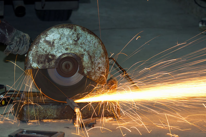 Welding spark industry Alloy Blurred Motion Circular Saw Close-up Cutting Equipment Factory Grinder Grinding Heat - Temperature Indoors  Industry Iron - Metal Long Exposure Machinery Manufacturing Equipment Metal Metal Industry Motion No People Sparks Steel Welding Work Tool Working