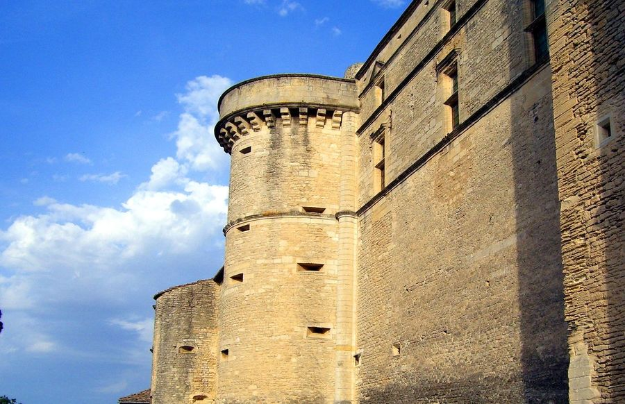Ancient Architecture Building Exterior Built Structure Castle Castle Day History Low Angle View No People Outdoors Parapet Parapet Wall Sky Sunlight Tower Turret