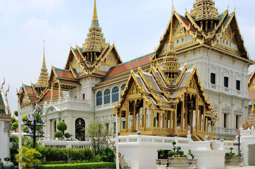 Architecture Building Exterior Built Structure Capital Cities  Cathedral Façade Famous Place Grand Palace Bangkok Thailand History International Landmark Place Of Worship Religion Spirituality Symmetry Thailand Tourism Town Square