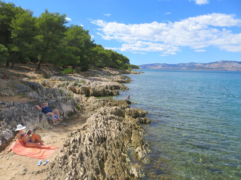 Croatia Backgrounds Water Nature Landscape Beach Time Beaches Beachphotography Split Croatia