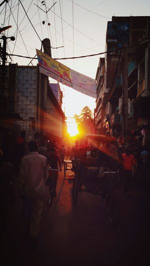 Sunset Urbanphotography Flares In Nature Evening View First Eyeem Photo Indian Streets