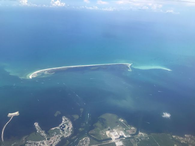The line where the sky meets the sea🌊 No People Water Nature Sea Life Beauty In Nature Sea Blue Day Outdoors Airplane Sky Teal Clearwater Florida