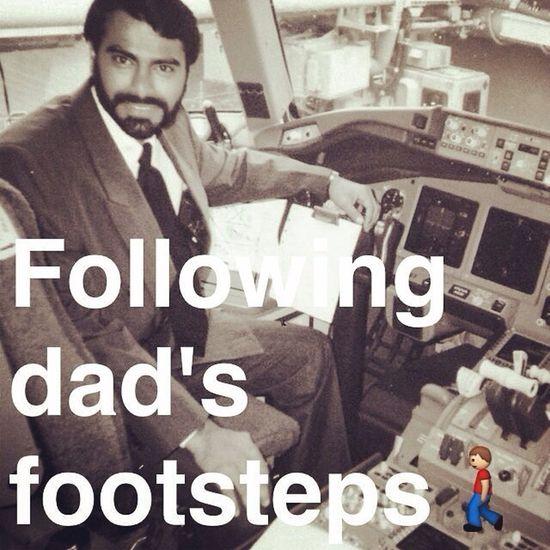 My Daddy the world's greatest Aviator ✈️✨
